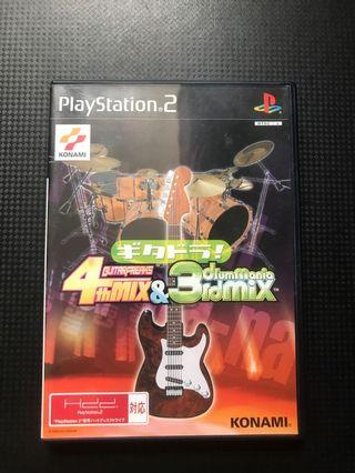 Ps2 Guitar Freaks 4thMIX & drummania 3rdMIX 日版