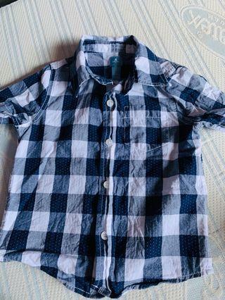 Checkered polo shirt 👕