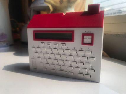 Washi Tape Label Printer King Jim Tepra Lite LR20 (Kado Hadiah untuk Pacar Anak Ibu)