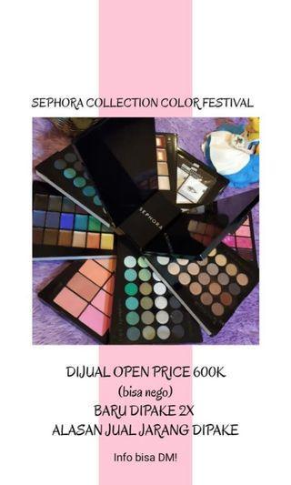 Sephora Color Festival Pallette