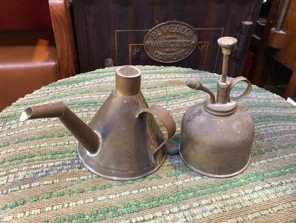 Vintage copper items