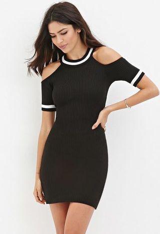 Knit Sweater Bodycon dress F21