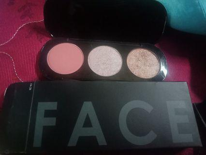 Focallure (highliter, blush on dan contour)