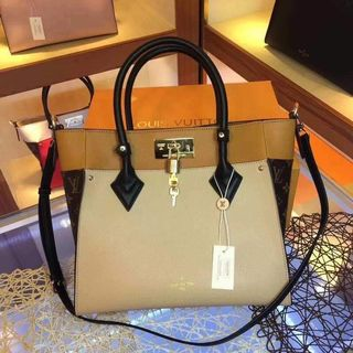 3957a0283 Louis Vuitton LV On My Side Tote Bag with Sling *Authentic Quality