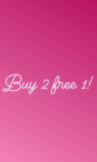 CLEARANCE! ALL MUST GO! BUY 2 FREE 1