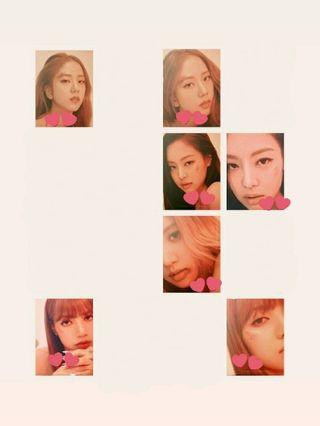 WTB BLACKPINK PUZZLE PHOTOCARDS