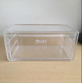 [Ready Stock] Acrylic Makeup Storage Box