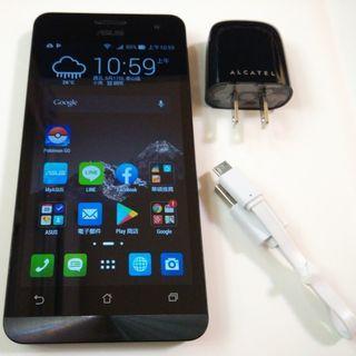 <二手良品螢幕無刮傷>黑ASUS ZenFone 5 T00F 2G/16G 8百萬相機安卓4.4 功能正常只要1200