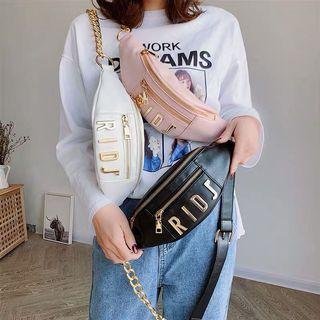 🚚 RIDS Word Fashion Chest Chain Sling Bag
