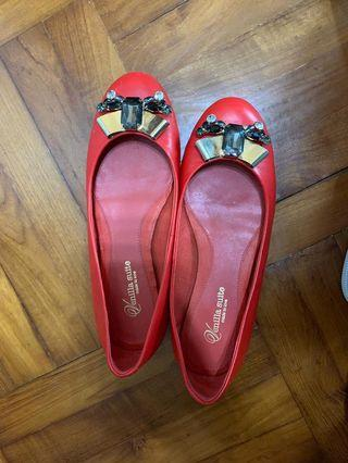 Venilla Suite 羊仔皮平底鞋