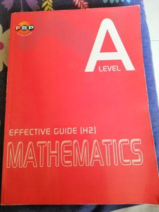 A Level H2 math guide