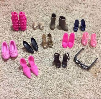 Barbie Shoes Set