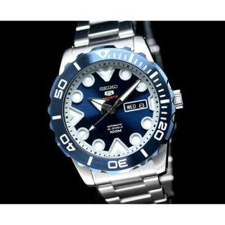 *SHARK TOOTH* Seiko 5 Sports SRPA09J1 Automatic Men Watch SRPA09 SRPA