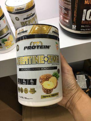 🚚 Protein 77 brand creatine / BCAA powdered drink milk