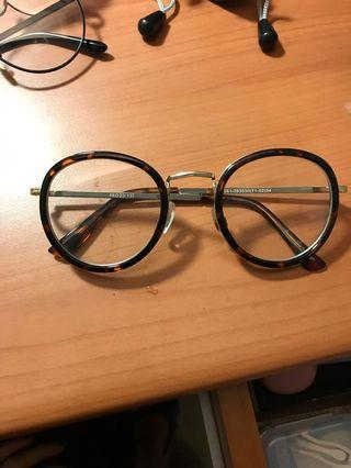 花紋圓框眼鏡