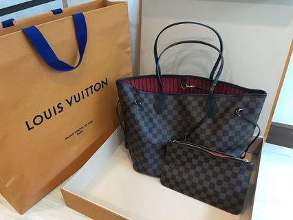 Louis Vuitton Neverfull MM (authentic)