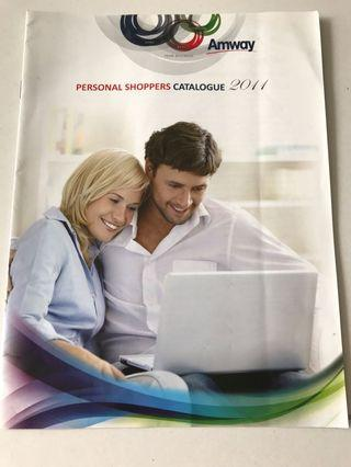 Amway personal shopper catalogue 2011