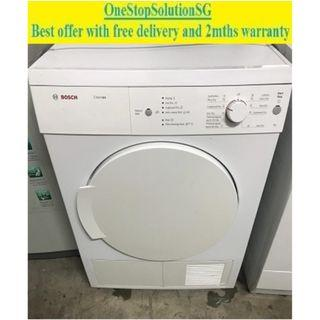 BOSCH (7.0kg), Air Vent Dryer ($250 + FREE delivery & 2mths warranty)