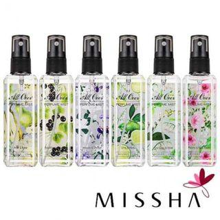 MISSHA All Over Perfume Mist [K-Beauty]
