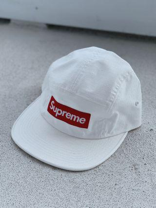 BNWT Supreme Fuck Everybody Jacquard Camp Cap in White SS19