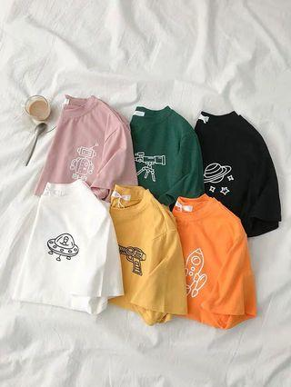 PO | Outer Space Tees