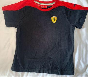 Original Puma Boys Ferrari t shirt 5 years