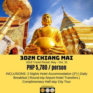 3D2N Chiang Mai, Thailand Tour Package