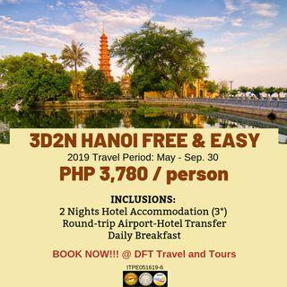3D2N Hanoi Free and Easy Tour Package
