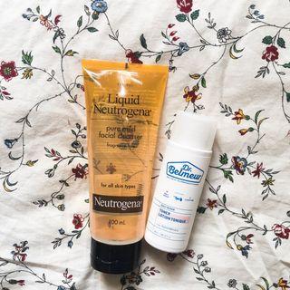 [FREE POS] Neutrogena Pure Mild Facial Cleanser