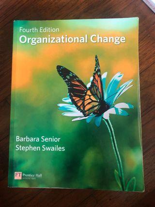 Organizational Change Fourth Edition