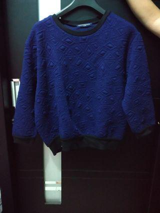 Sweater emboss like new