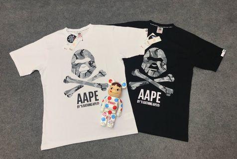 日本代購Aape 短Tee 男女同款