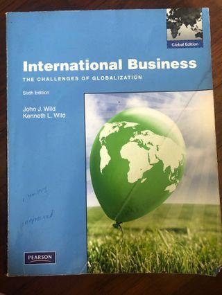 International Business The Challenges Of Globalisation 6th Edition