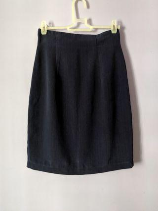 Navy OL skirt