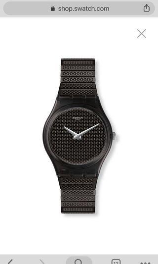 Original Swatch Noirette Swiss watch