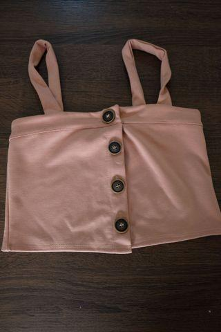 Cropped top pink ish
