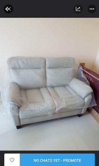 🚚 Half leather Sofa