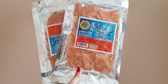 Loong Kee Cuttle Fish Snack Malaysia Cumi cumi