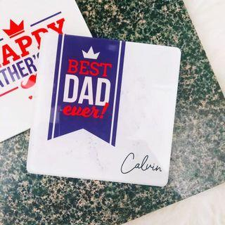Father's Day Acrylic Coaster