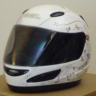 SOL motorcycle helmet 電單車 頭盔   M-size (No scratch near new)