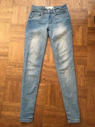 Garage stretchy skinny jeans