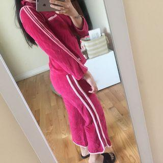 Nike pink tracksuits