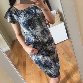 Beautiful Eva De Eva silk dress