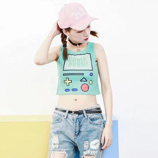 PO | Game Over Crop Top