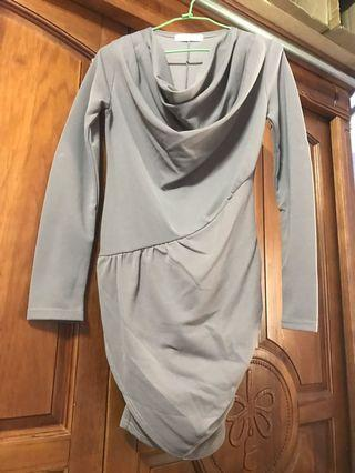 🚚 女神質感特殊剪裁洋裝