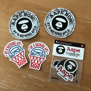 AAPE stickers