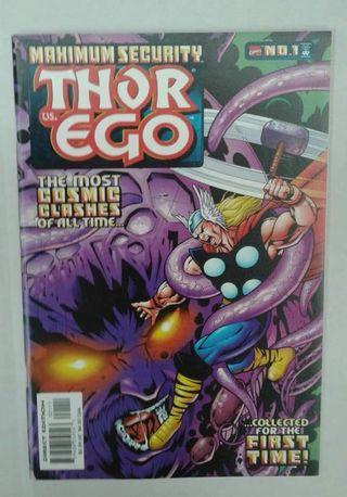Maximum Security: Thor vs Ego #1 ( Marvel Comics )