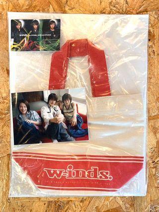 W-inds. 手挽袋+相+年曆卡 全新 CN008