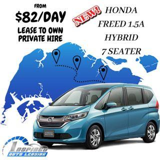HOT LEASE !!! BRAND NEW HONDA FREED 1.5A HYBRID 7 SEATER