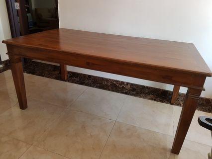 Solid wood -Teak Dining Table